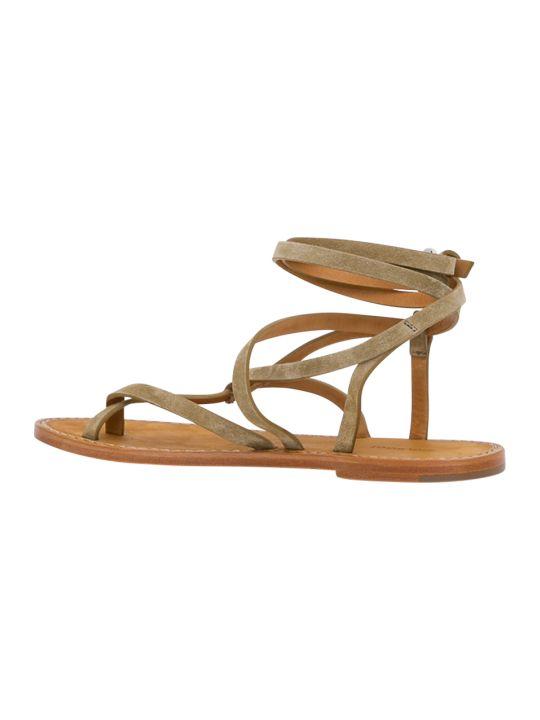 Isabel Marant Jesaro Flat Sandal In Suede