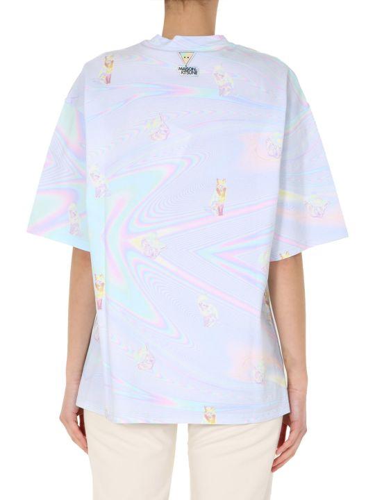 Maison Kitsuné Round Neck T-shirt