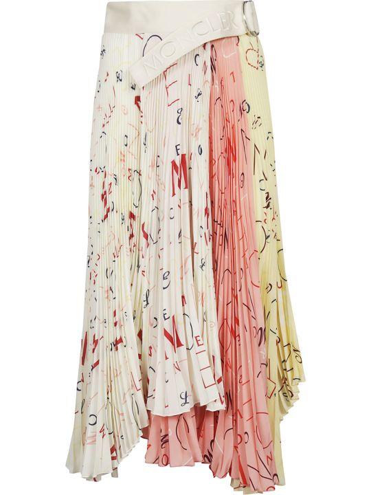Moncler Printed Skirt