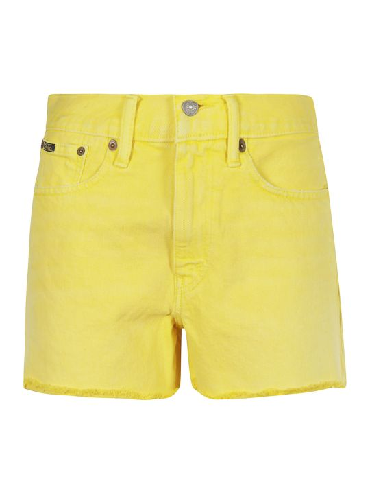 Ralph Lauren Fringed Shorts