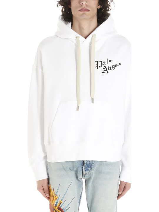 Palm Angels 'scared Heart' Hoodie