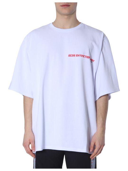 GCDS Oversize Fit T-shirt