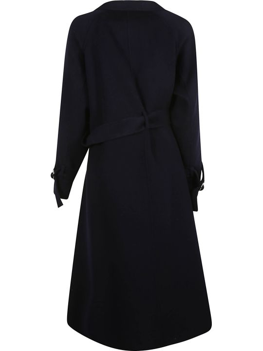 SportMax Wrapped Belted Long Coat