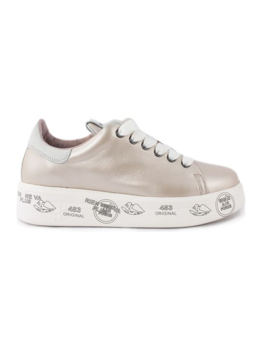 Premiata Belle Sneaker In Pink Leather