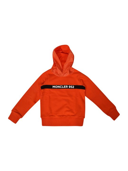 Moncler Kids Embroidered Hoodie