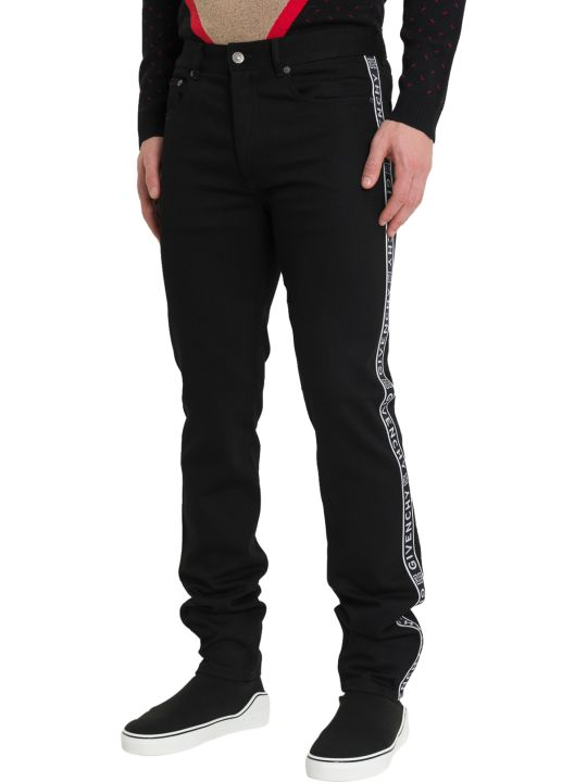 Givenchy Jeans With Givenchy Strip