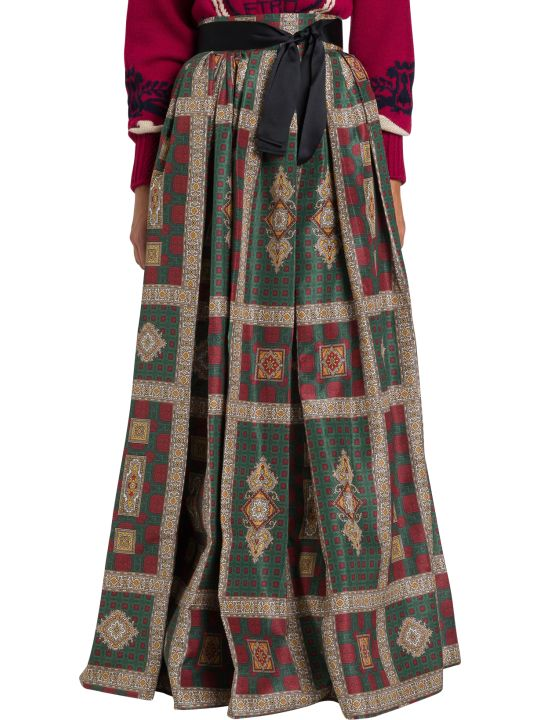 Etro Darlington Long Skirt