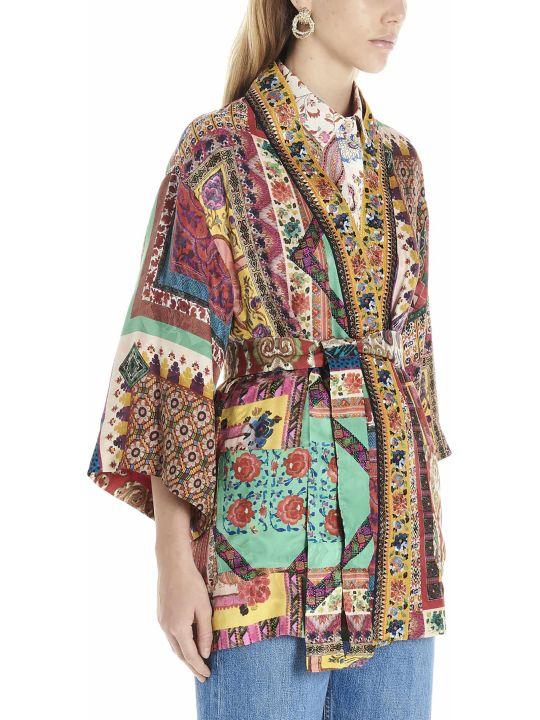 Etro 'patch Pochette' Kimono