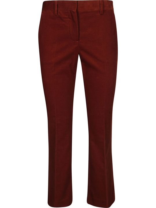 Brag-Wette Flared Trousers