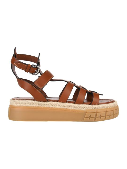 Prada Leather Sandals