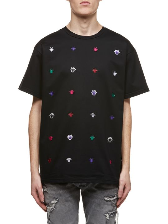 Dior Front Embroidered Detail T-shirt