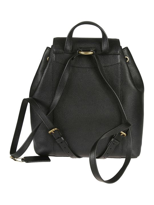 Coach Leather Bucket Backpack