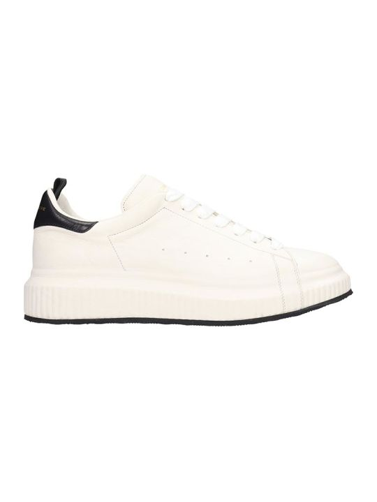 Officine Creative Arran Sneakers In White Leather