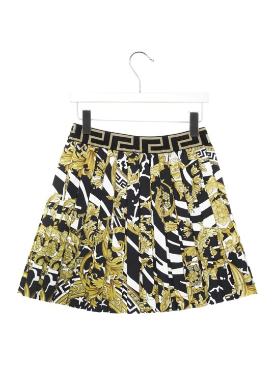 Young Versace 'barocco Icon' Skirt
