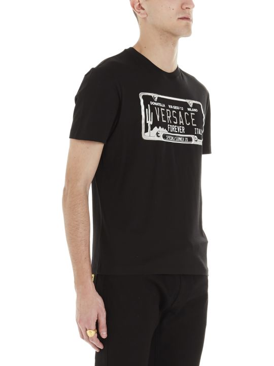 Versace 'targa' T-shirt
