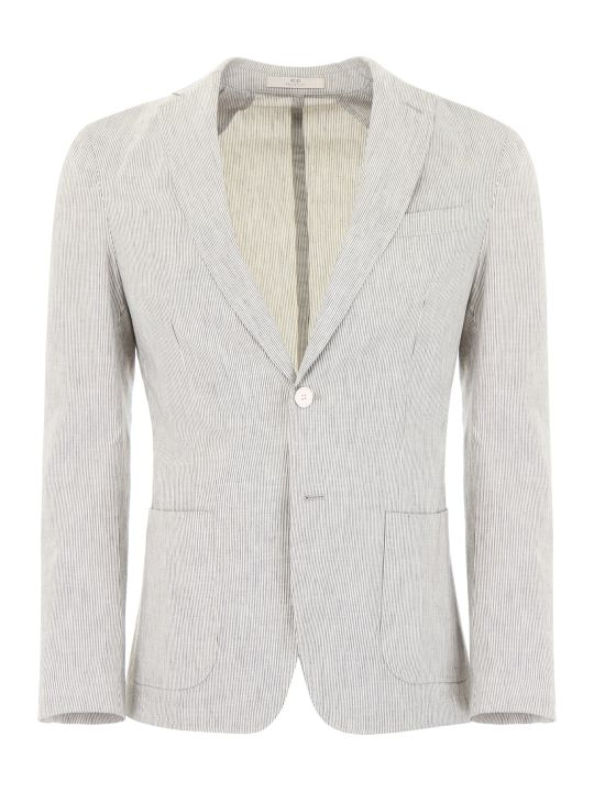CC Collection Corneliani Striped Blazer