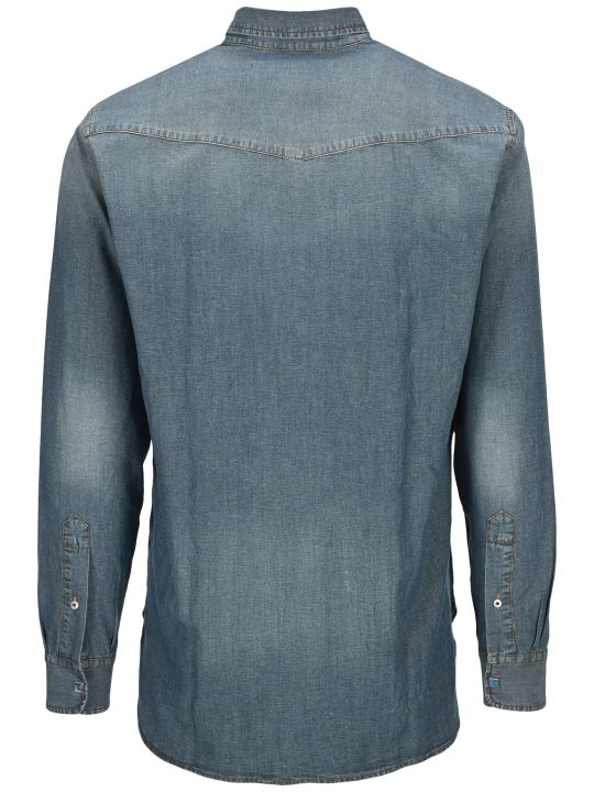 Golden Goose Stonewashed Denim Shirt