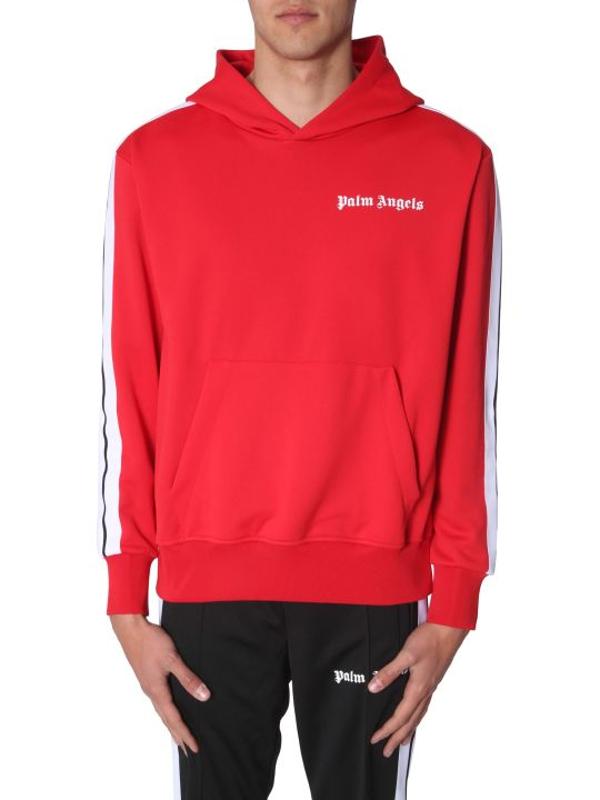 Palm Angels Hooded Track Sweatshirt