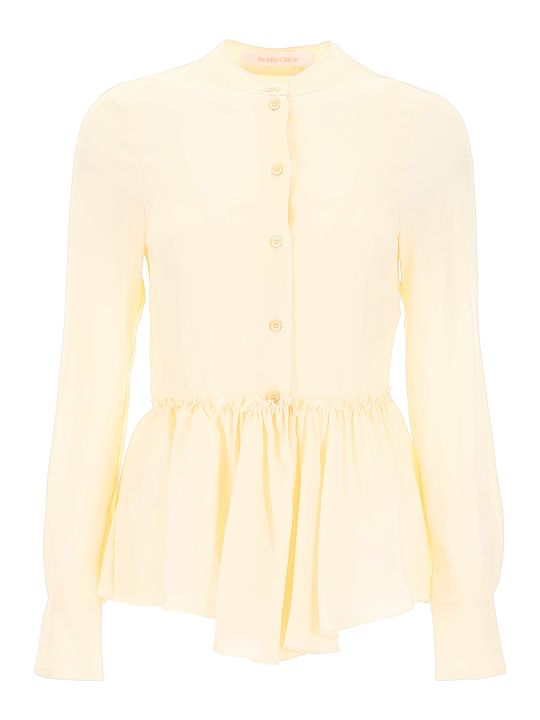 See by Chloé Ruffled Shirt