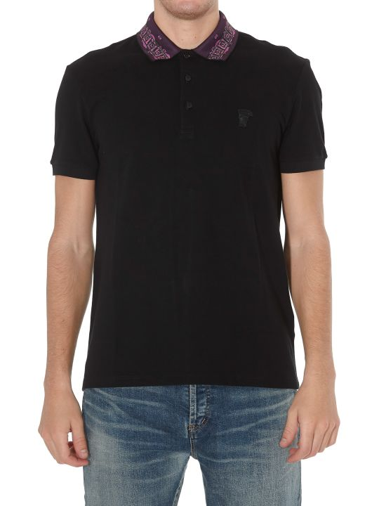 Versace Collection Logo Collar Polo