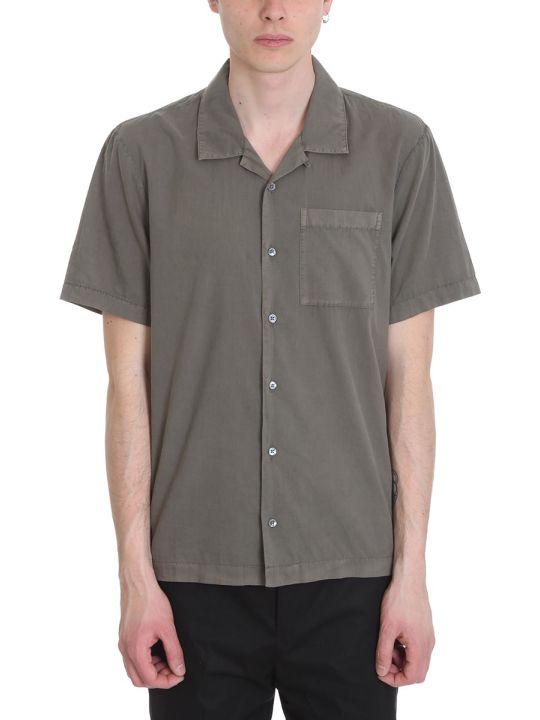 James Perse Green Cotton Shirt