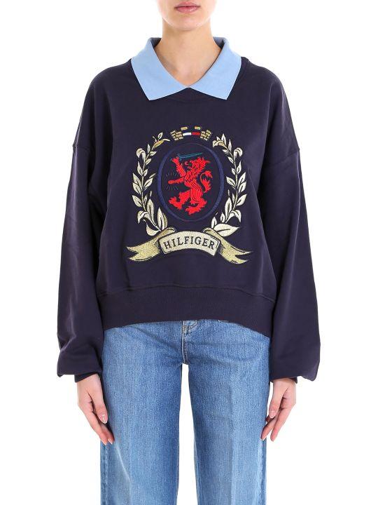 Tommy Hilfiger Collegiate Collared Sweatshirt