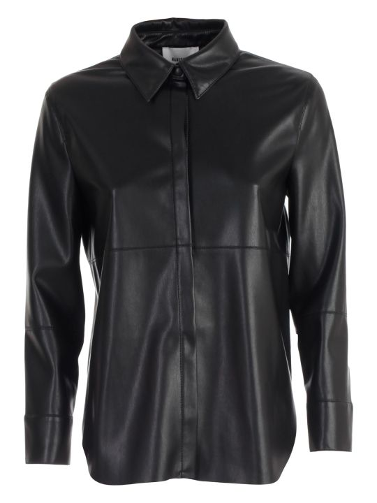Nanushka Shirt L/s Leather
