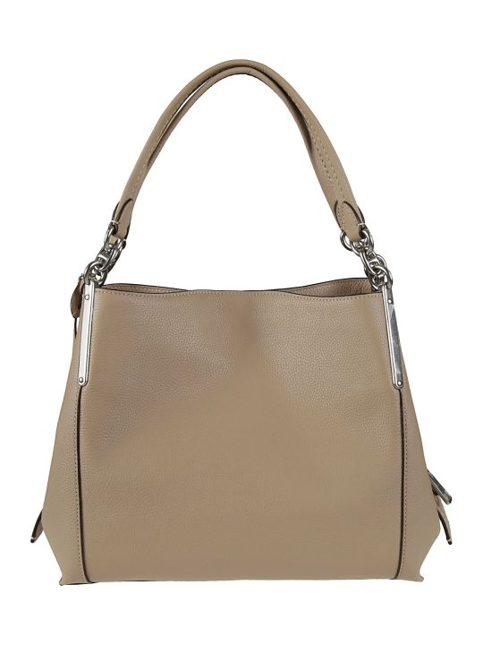 Coach Zipped Logo Detail Tote