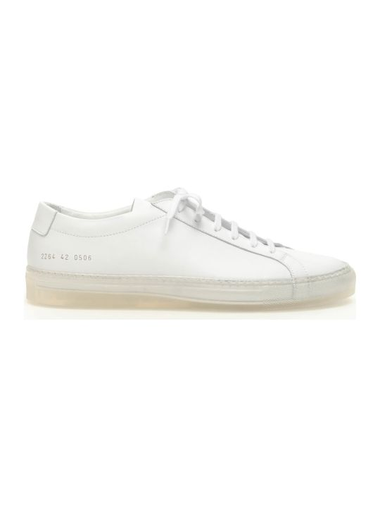 Common Projects Original Achilles Low Transparent Sole Sneakers