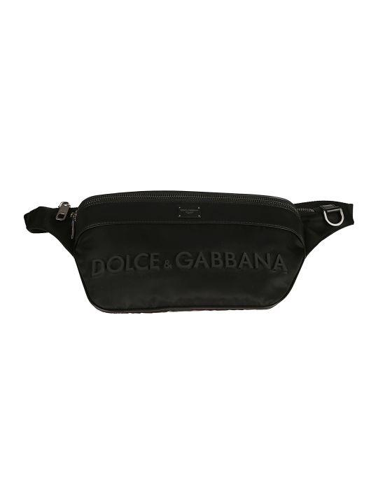 Dolce & Gabbana Logo Embossed Belt Bag