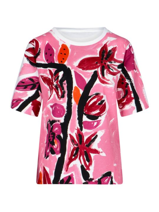 Marni Flowers Print T-shirt