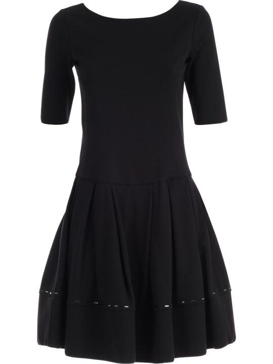 Emporio Armani Dress S/s A-line W/baguette
