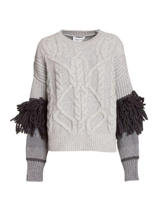 Enföld Fringes Sweater
