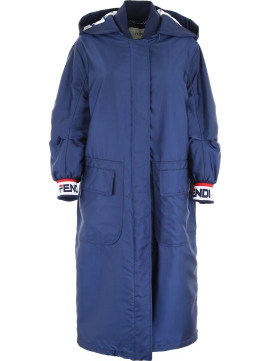 Fendi Fendi Mania Waterproof Coat