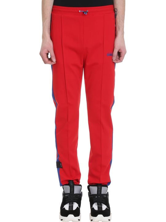 Ben Taverniti Unravel Project Red Polyester Pants