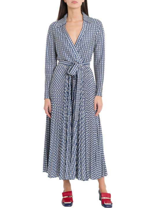 Valentino Long Wrap Dress