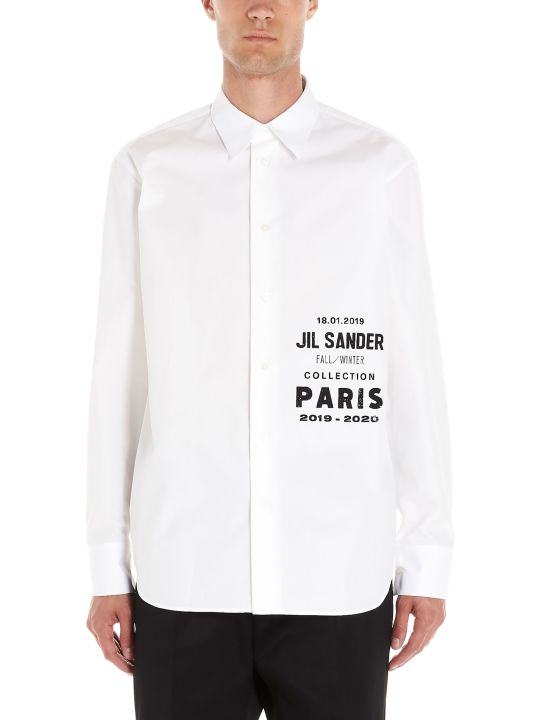 Jil Sander 'logo Fashion Show Fw19' Shirt