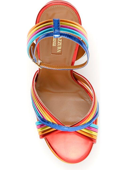 Aquazzura Sundance Platform Sandals