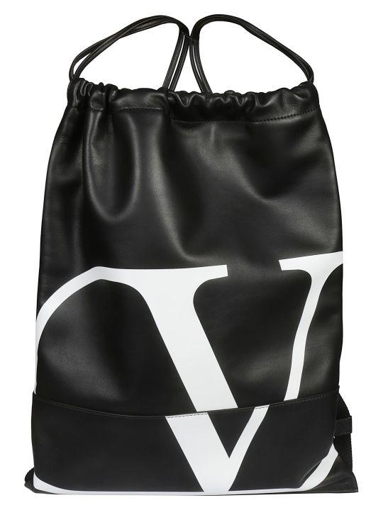 Valentino Logo Backpack