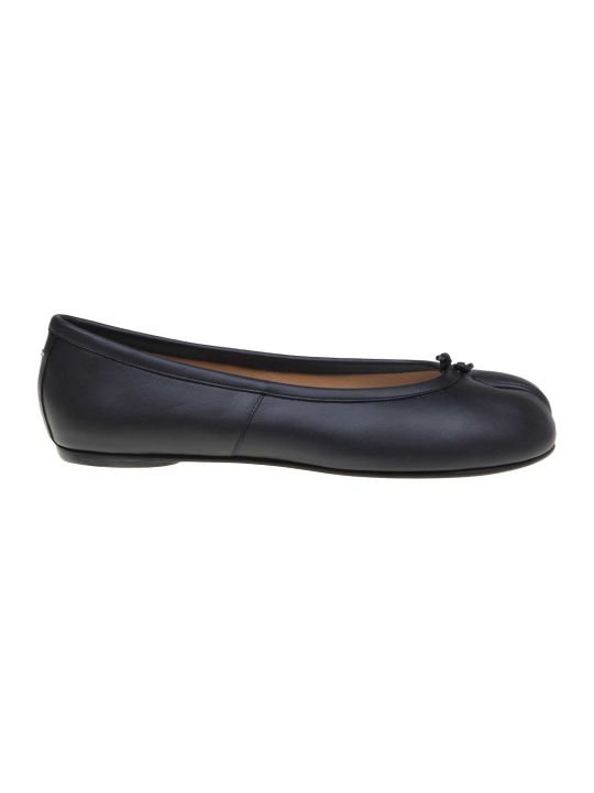 Maison Margiela Ballerina Tabi Leather Color Black