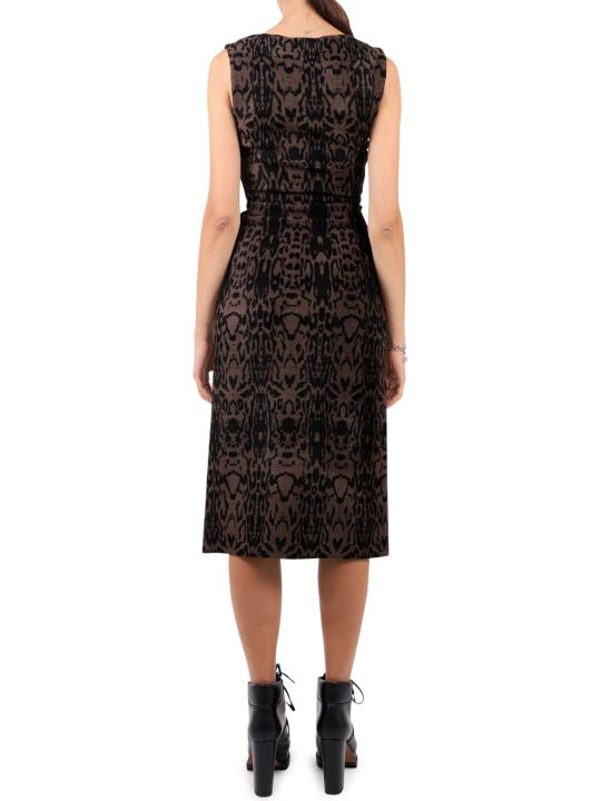Alaia Patterned Pantera Dress