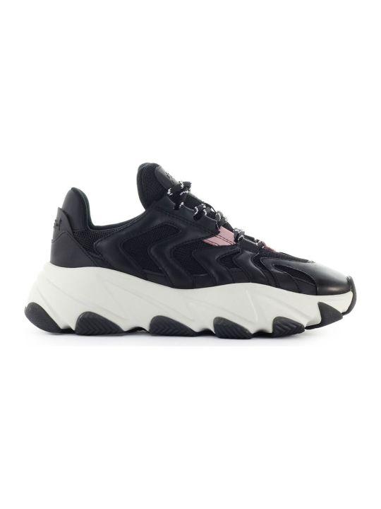 Ash Extreme Black Pink Sneaker