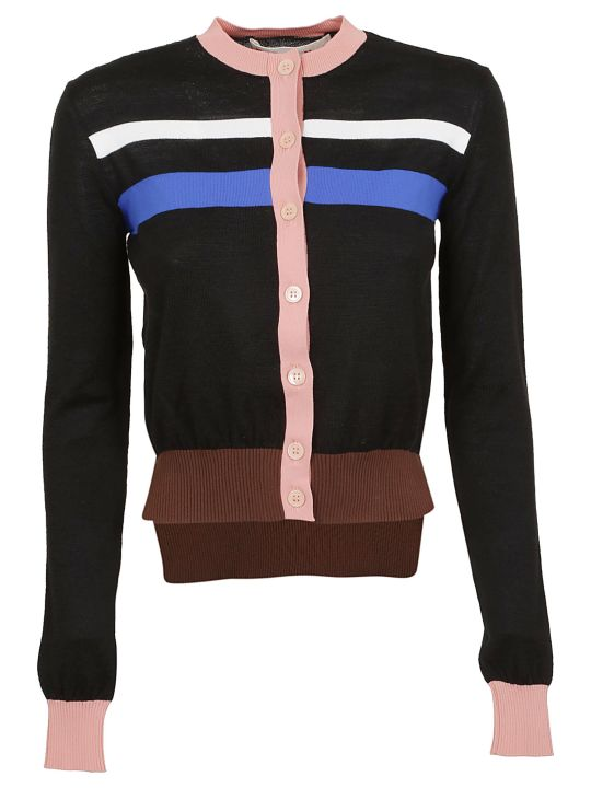 Marni Color Block Cardigan