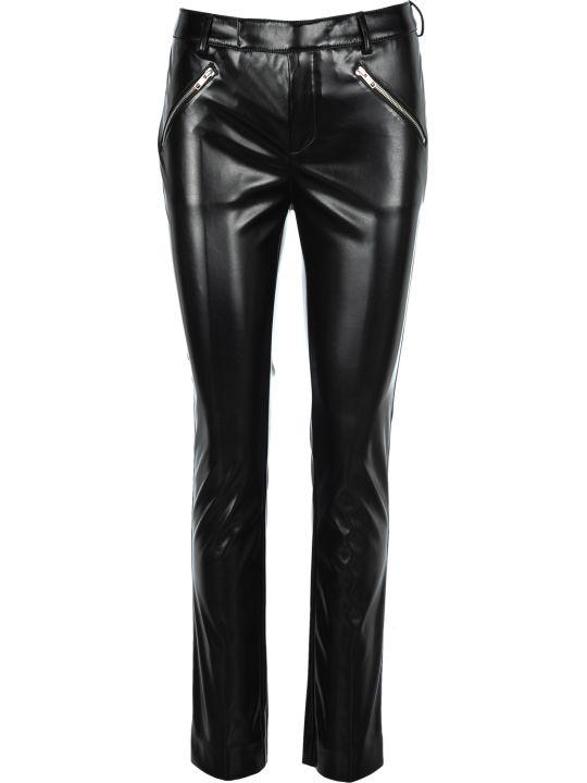 Philosophy di Lorenzo Serafini Philosophy Faux Leather Straight Leg Trousers