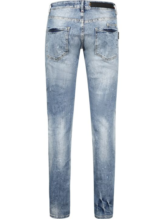 Philipp Plein Straight Leg Jeans