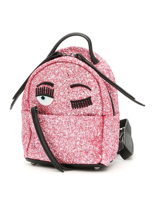 Chiara Ferragni Glitter Flirting Mini Backpack