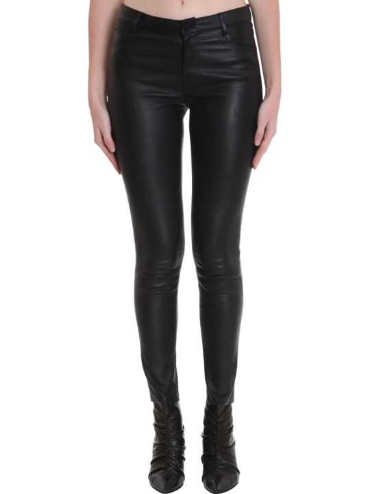 DROMe Pants In Black Leather