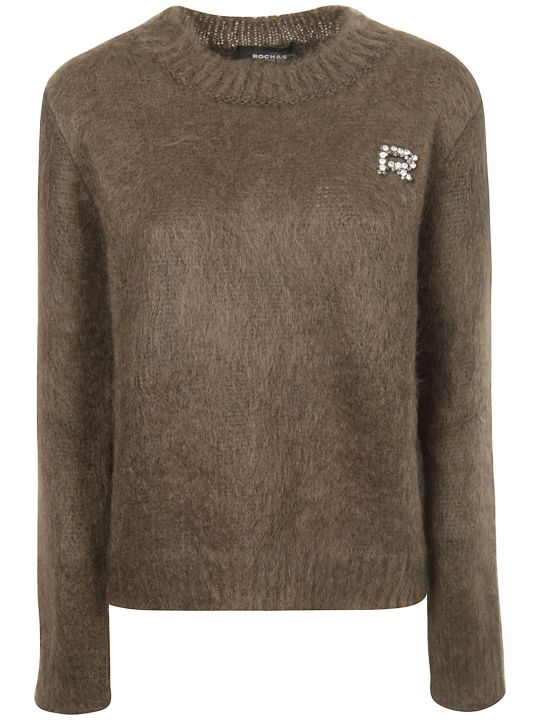 Rochas Embellished Sweater