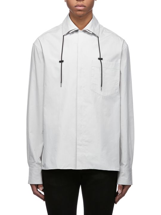 Lanvin Drawstring Collar Shirt