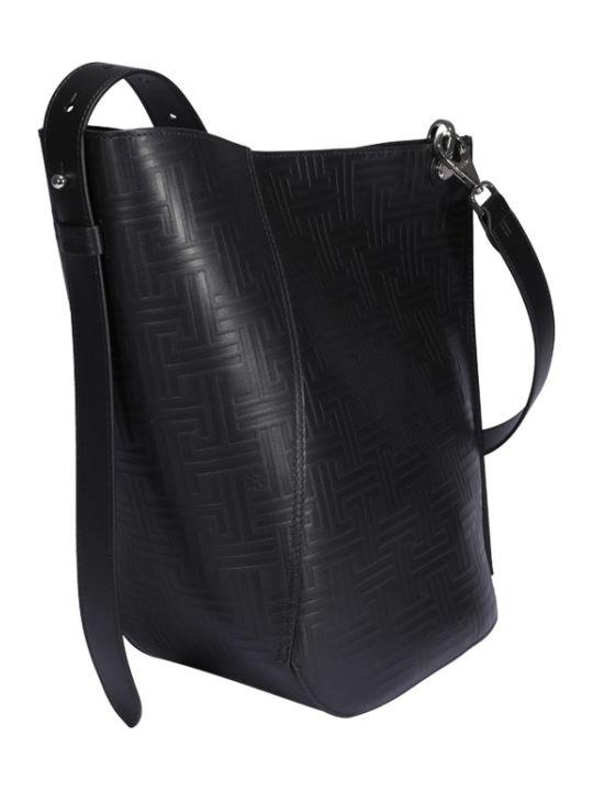 Lanvin Asymmetrical Medium Bucket Bag